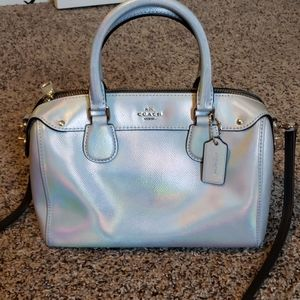 Coach hologram bag